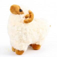 لعبة خروف فرو-العاب محشوة